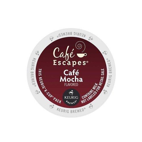 Green Mountain Café Escapes Café Mocha K-Cup