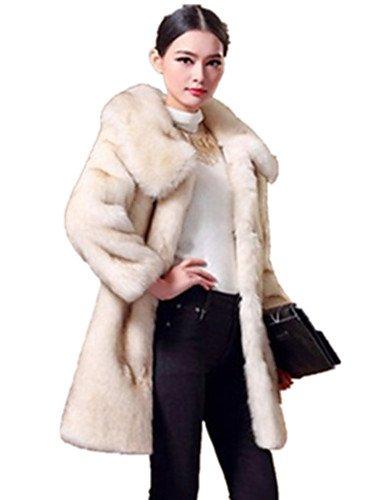 VU*LK Cappotto di pelliccia Da donna Casual Da party