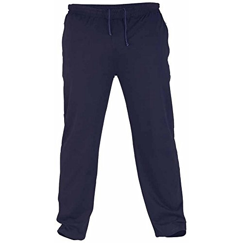 Duke - Pantalones de chándal ligeros y de felpa en talla grande modelo