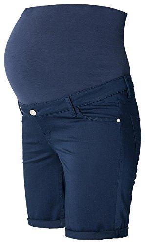 Christoff Bermudas Pantalones Vaqueros Capri Mujer Moda Premamá Pantalones Ajustados / Ajustado Marina