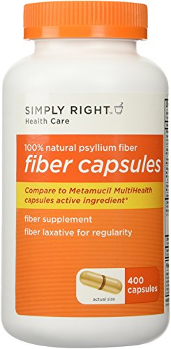 (Member's Mark Therapy for Regularity/Fiber Supplement, 800 Count Fiber Capsules (Compare to the Active Ingredient in Metamucil))
