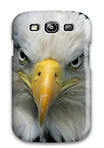 3284306K38034899 Excellent Galaxy S3 Case Tpu Cover Back Skin Protector Bald Eagle