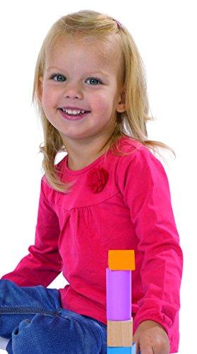 Eichhorn - Mattoncini in legno per bambini 3