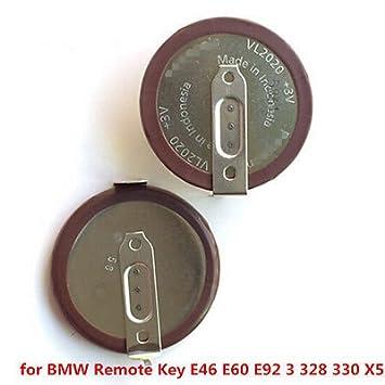 Fidgetgear Original Vl2020 Rechargeable Battery For Bmw Remote Key E46 E60 E92 3 328 330 X 5