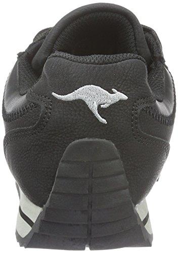 500 500 Baskets black Kangaroos Teno Basses Ii Femme Noir 08vq7w
