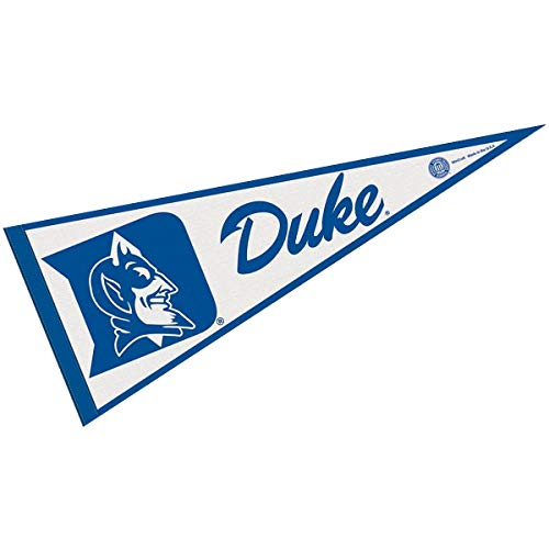 (WinCraft NCAA Duke University WCR63902814 Carded Classic Pennant, 12