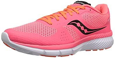 Saucony Women's Trinity Running Shoes, Coral/Orange, 10 M US