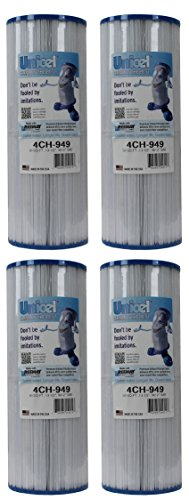 4) New Unicel 4CH-949 Pool Spa Waterway Replacement Filter Cartridges 50 Sq Ft by Unicel