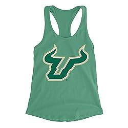 Official NCAA University of South Florida Bulls - RYLSFL06, G.A.1533, K_GRN, 2XL