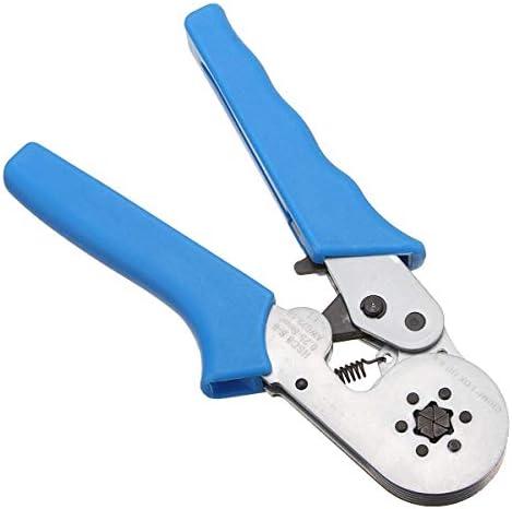 SSY-YU 圧着工具自己調節可能なラチェットフェルールワイヤークリンパープライヤー8 6-60.25-6.0mm²プライヤーツール ペンチ 切断工具