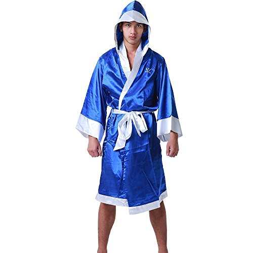 Wesing Boxing Robe with Hood Boxing Robe for