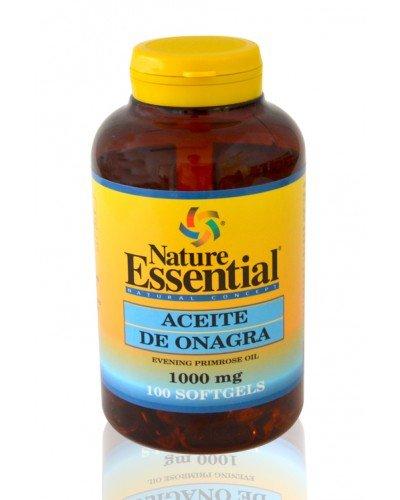 Nature Essential Aceite de Onagra con Vitamina E - 100 Cápsulas
