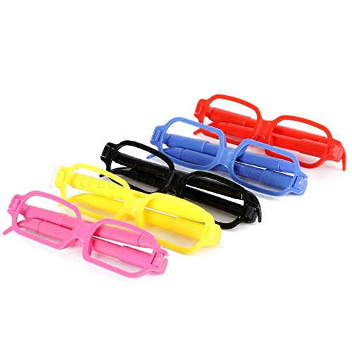 MAZIMARK--Creative Glasses Shaped Ball-point Pen Student Kids Writing Stationery Toys - Cards Gift California Law