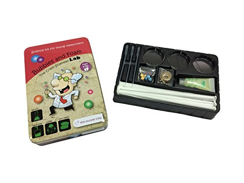 The lila Cow The Crazy Scientist Lab Bubbles and Foam Science Kit by The lila Cow