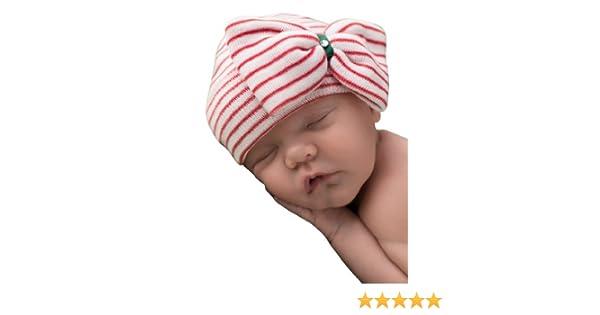 Premium Baby Beanie Melondipity Christmas Girl Newborn Hospital Hat