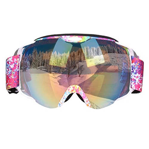 CROTI Ski Goggles Snowboard For Men&Women Youth 100% UV400 Protection Snowboarding Skiing - Goggles Polarized Clearance Ski