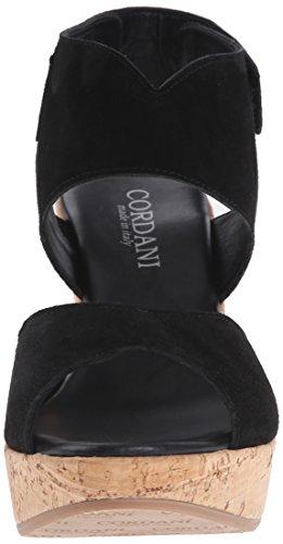 Cordani Womens Rhonda Platform Sandaal Zwart