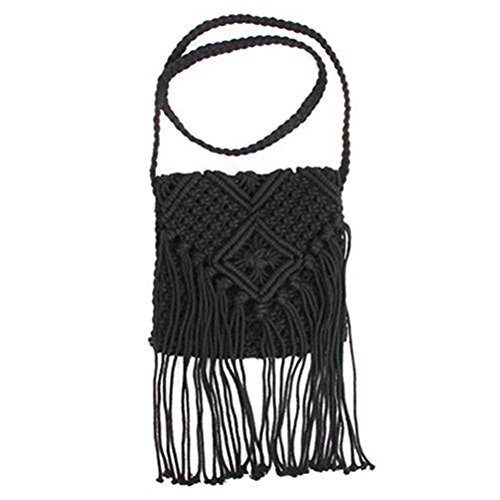 Crochet Shoulder Bags - 5