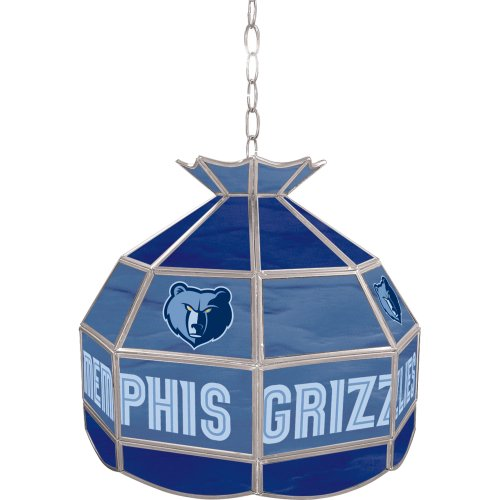 NBA Memphis Grizzlies Tiffany Gameroom Lamp, 16'' by Trademark Gameroom