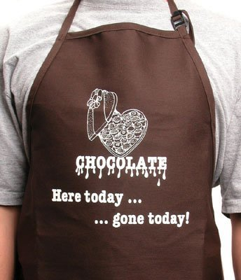 - CK Products Brown Expression Cooking Apron