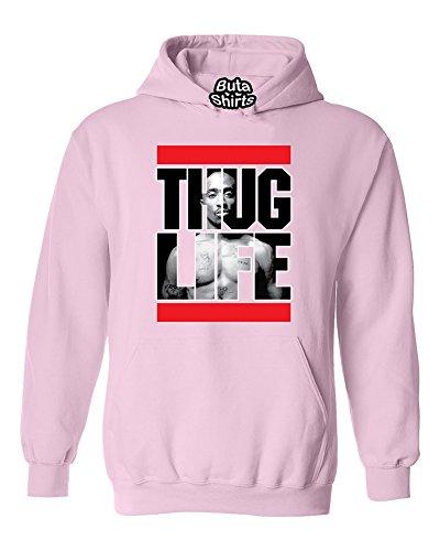 Tupac 2pac Thug Life Rap Hip-Hop Artist Tupac Shakur Hoodie