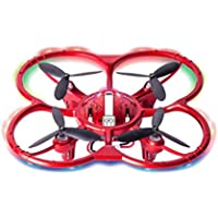 Gotd 2.4G 4CH High Hold Mode RC Quadcopter Remote Controlled 6 Axis Aircraft, Red