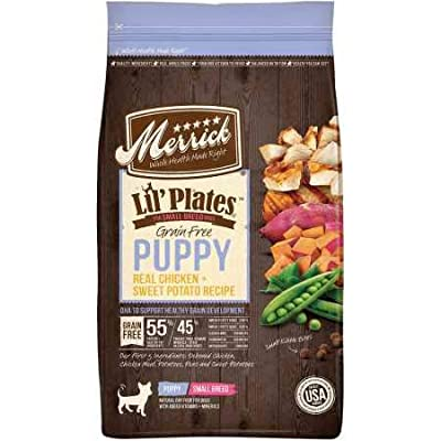 Merrick Lil Plates Grain Free Dry Dog Food Small Breed Real Chicken + Sweet Potato Recipe