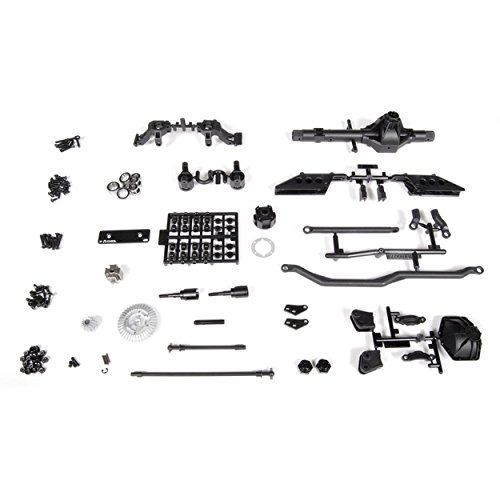 Complete Solid Axle (Axial AX30831 AR60 OCP Front Axle Complete)