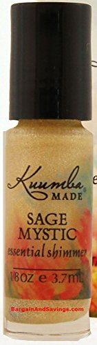Demeter Costumes (Kuumba Made Essential Shimmer (Sage Mystic, 1/8oz (3.70ml)))