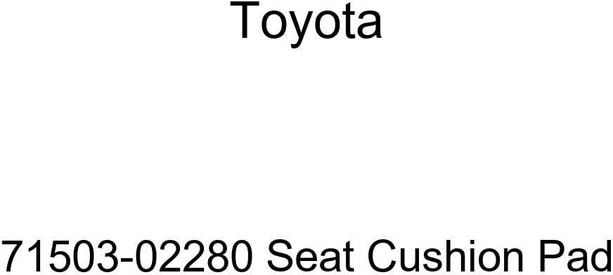 TOYOTA Genuine 71503-02280 Seat Cushion Pad