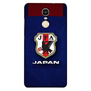 ColorKing Xiaomi Redmi 5 Football Blue Case shell cover - Fifa Japan 02