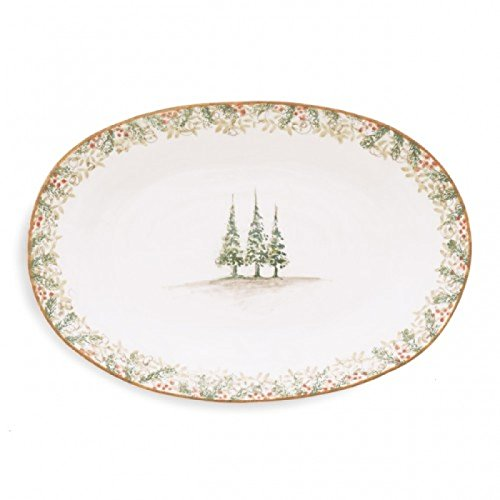 Christmas Tree Serving Platters