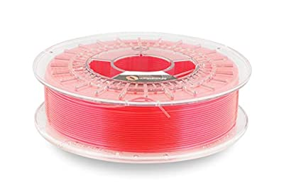 Fillamentum CPE Extrafill Neon Pink 1.75mm 3D Printer Filament Spool, Diameter Tolerance +/- 0.05mm, 750g