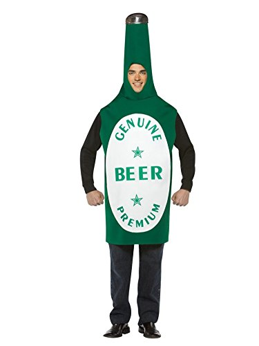 Beer Bottle Costume - One Size - Chest Size 42-48