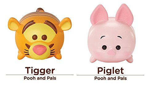 And Friends Pooh (Disney Tsum Tsum 2 Figure Classic Friends Winnie the Pooh Pack - Tigger & Piglet Medium Vinyl Set)