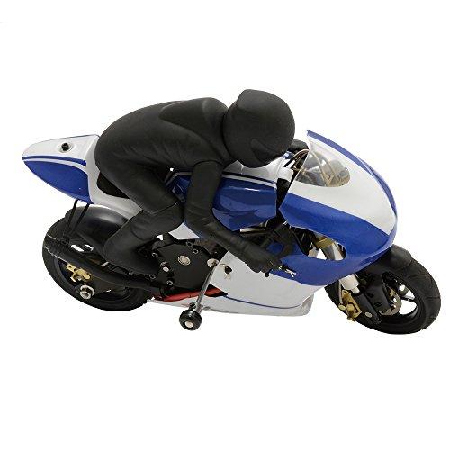 ハイテック イーライダー moto1 ブルー CX3-T18B RCバイク