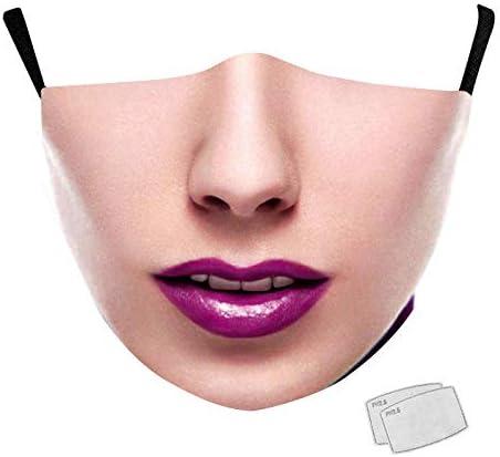 Protege la Nariz y la Boca Evite el Contacto con el Polvo De la Boca de la Cubierta Reusabke Tapa la Cara La contaminación del Aire Tapa la Cara