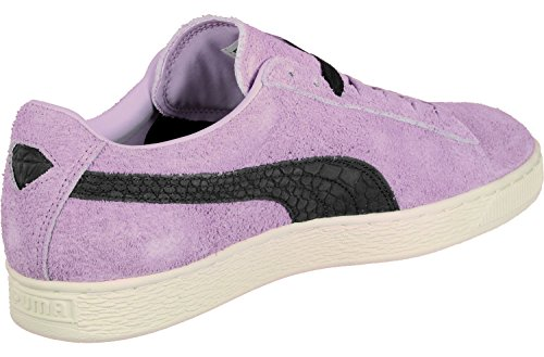 Puma Suede Diamond Purple Black Lila