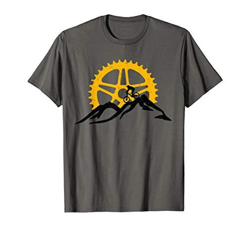 Mountain Bike T-Shirt - MTB Downhill Biking Shirt Gift (The Best All Mountain Bike)