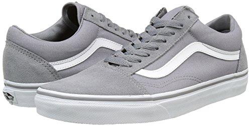 4a49278dcf Vans Unisex Old Skool (Suede Canvas) FrstGry Twt Skate Shoe 13 Men ...