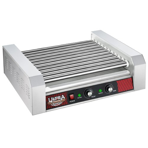 Great Northern Commercial Quality 30 Hot Dog 11 Roller Grilling Machine 2200W
