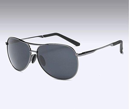 l'air de l'armée black de hommes Miroir Glsyj lunettes Gun soleil spécifiques LSHGYJ HD cloth soleil crapaud Polariseur pilote lunettes conduite de q5tEWWnH