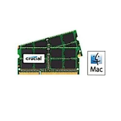 Crucial 8GB Kit (4GBx2) DDR3 1600 MT/s (PC3-12800) 204-Pin 1.35V/1.5V SODIMM Memory For Mac - CT2K4G3S160BJM by Crucial