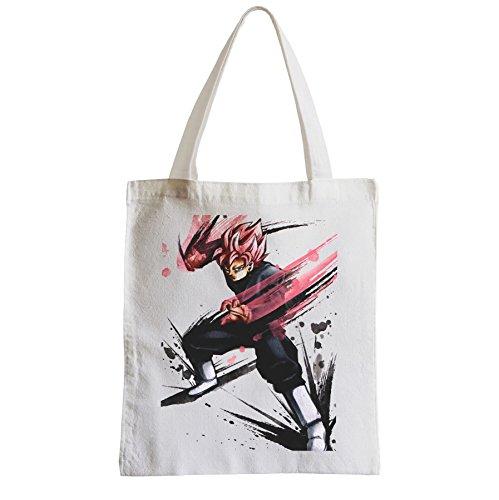 Große Tasche Sack Einkaufsbummel Strand Schüler Dragon Ball Goku Super god dbz manga
