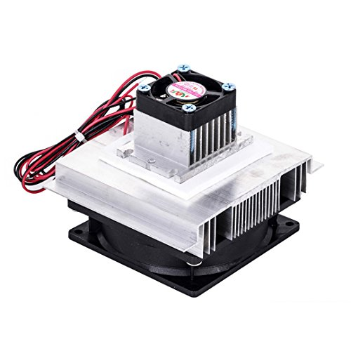 SODIAL TEC-12706 Thermoelectric Peltier Refrigeration Cooling System Kit Cooler Fan DIY by SODIAL