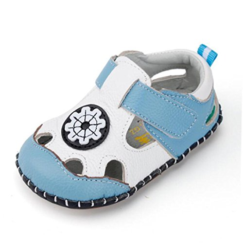 7f14fcc18958 Summer Baby Boys Shoes Newborn Baby Boy Soft Sole Leather First Walkers  toddlers Baby Leather Shoes