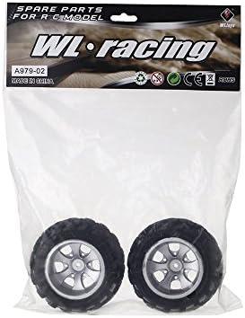 High-end Wltoys A979 1//18 Rc Car Right Tire A979 02 Part for Wltoys RC Car Q0U7
