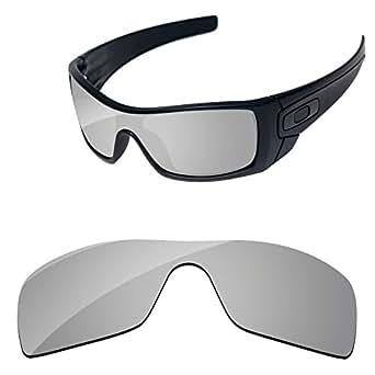 PapaViva Lenses for Oakley Batwolf OO9101 silver Size: Batwolf