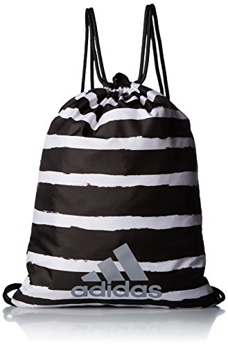 Adidas Drawstring Gym Bag Grid Brushed Lines Training Performance S99656 Unisex by adidas