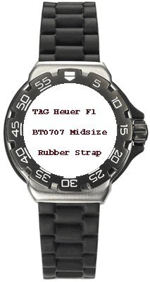 TAG Heuer F1 Midsize Rubber Strap BT0707 [Watch]